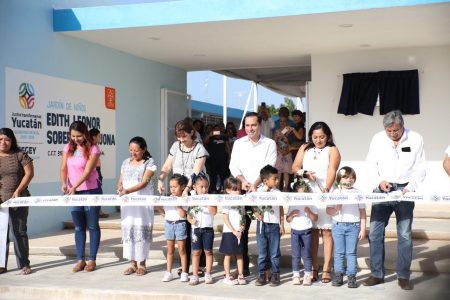 Mauricio Vila anuncia la apertura de cinco nuevas escuelas en Ciudad Caucel