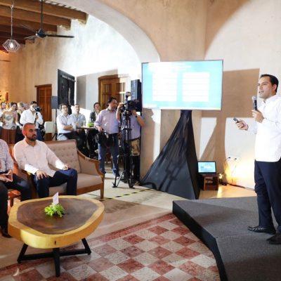 Mauricio Vila promociona a Yucatán ante líderes de inversión de impacto de 30 países