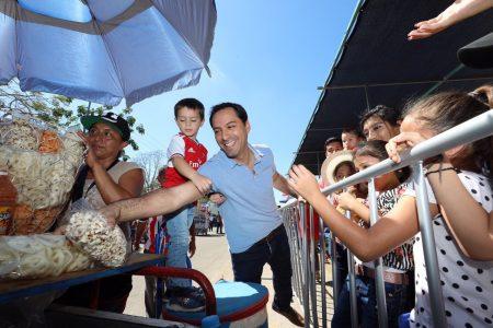 Inédita presencia de un gobernador en el Carnaval de Mérida 2020