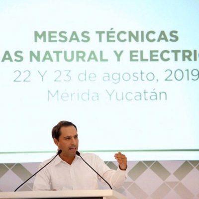 Yucatán avanza hacia tarifas de electricidad más bajas y justas