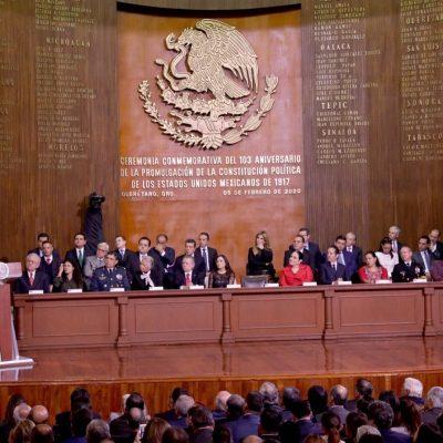 Mauricio Vila, presente en el 103 aniversario de la Constitución