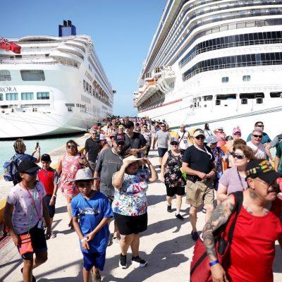 Tras recorrer las islas más glamorosas del Caribe, llega a Progreso nuevo crucero de lujo