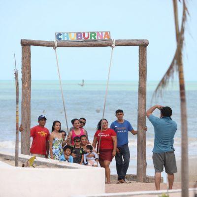 Festival de la Veda atrae a miles de familias a la costa yucateca