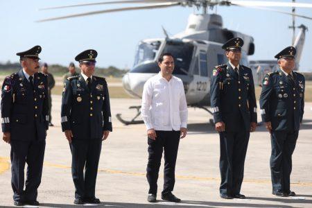 Anuncia Mauricio Vila indemnización para elementos de las Fuerzas Armadas