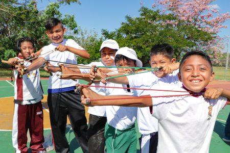 Realizan torneo de juegos tradicionales de Yucatán