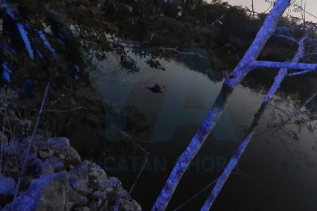 Lo encuentran flotando muerto en una aguada al norte de Mérida
