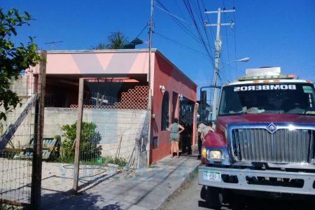 Salieron de viaje y olvidaron apagar una veladora: su casa ardió en llamas