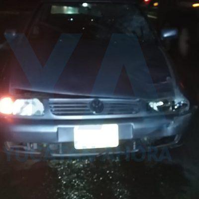 Impacto mortal en la carretera Mérida-Cancún: fallece transeúnte