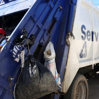 No se suspenderá la recolección de basura en Martes de Carnaval