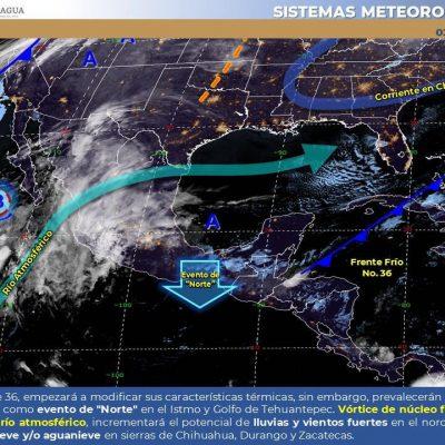 Conagua pronostica frío amanecer: de hasta 6 grados en el sur de Yucatán
