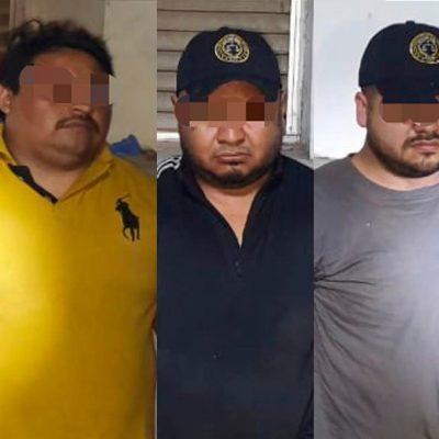 Ordenan prisión preventiva contra sujetos que se hacían pasar por policías