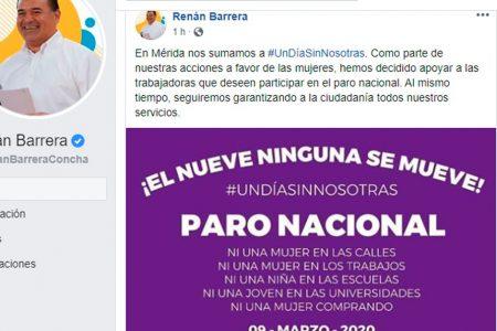 Facilidades a trabajadoras del Ayuntamiento que se sumen a paro de mujeres