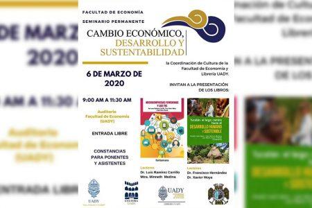 Presentarán libros sobre micro empresas femeninas y desarrollo sustentable