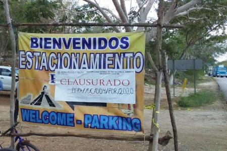 Ex alcalde retira sellos de clausura de Profepa, en Pisté