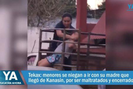 Incidente en Tekax por un caso de custodia de menores