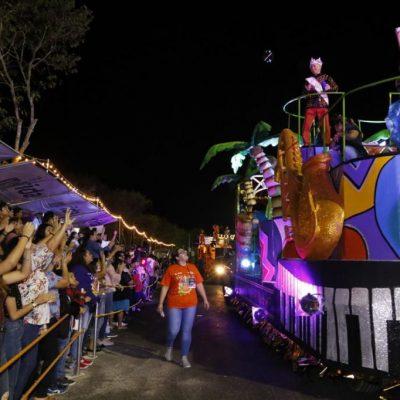 47 mil personas disfrutan del primer día del carnaval más seguro de México