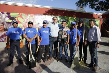 El ejército de limpieza, la comparsa indispensable del Carnaval de Mérida