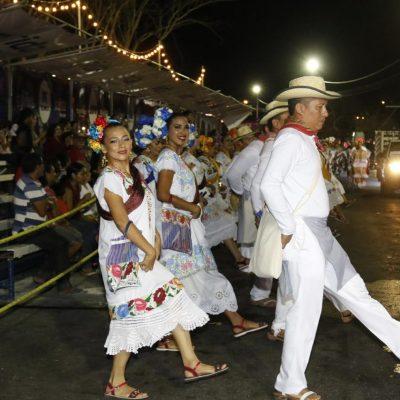 Algarabía y tradición en el emblemático Lunes Regional en Ciudad Carnaval