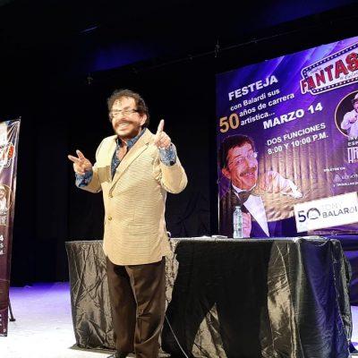 Tony Balardi festejará sus 50 años de trayectoria en Mérida
