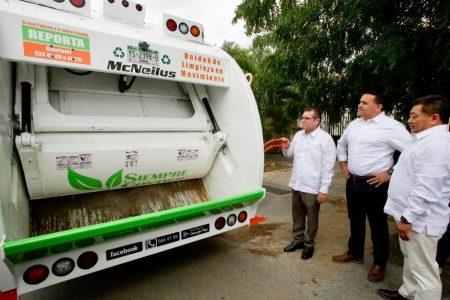 Nuevos vehículos para mejorar el servicio de recolección de basura