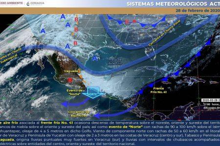 Seguirá el frío en Yucatán: esperan amanecer de 11°C en el Sur y de 14°C en Mérida
