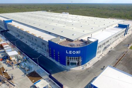 Reconocen la planta de Leoni como mejor proyecto de iluminación en grandes superficies