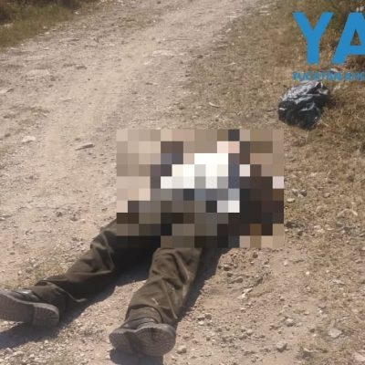 Hallan muerto a un adulto mayor en un camino de terracería, en Flamboyanes