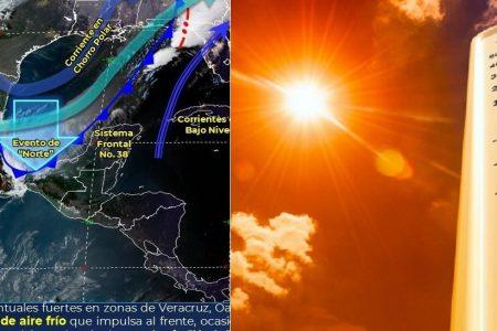 Febrero hace de las suyas en Mérida: calor infernal en el día y norte por la noche