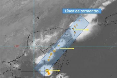 Mañana continuarán las lluvias y nublados por el frente frío 41