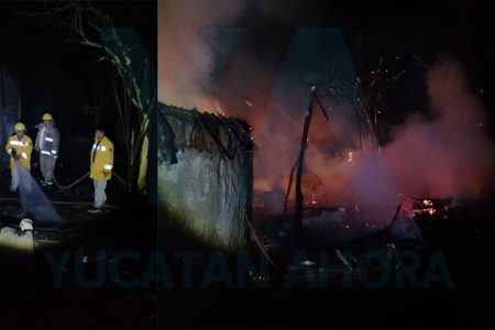Abuelita pierde su casa en incendio