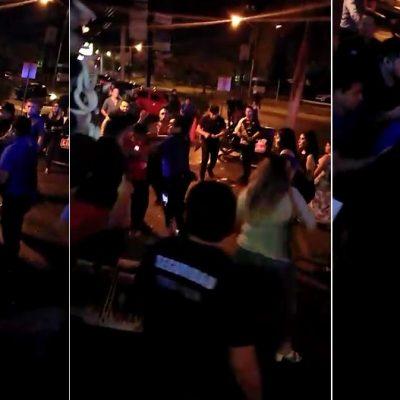 'Amistosos' empleados de Like Américas golpean en montón a un cliente