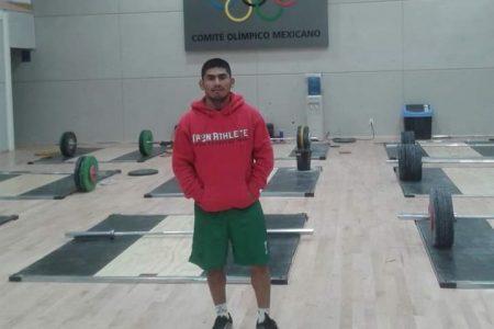 El pesista tekaxeño Lino Montes se queda sin Juegos Olímpicos