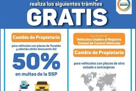 Amplían el plazo para la regularización de vehículos con trámites gratuitos