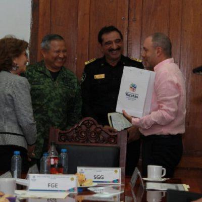 Califica Presidencia como ejemplar la labor de Yucatán por la seguridad