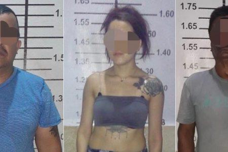 Hacían trío para vender drogas en el sur de Yucatán