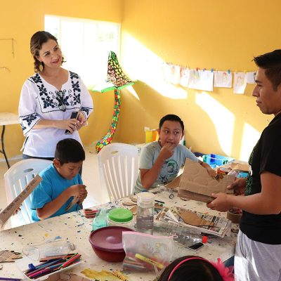 "Llega ""Cultura para todos"" a comisarías de Yucatán"