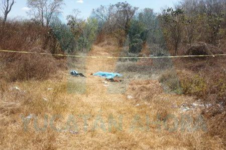 Infarto le quita a vida en un monte cerca de la carretera Mérida-Cancún