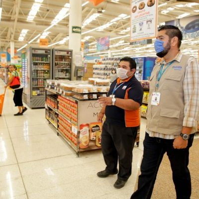 Ayuntamiento supervisa que supermercados atiendan las medidas ante el Covid-19