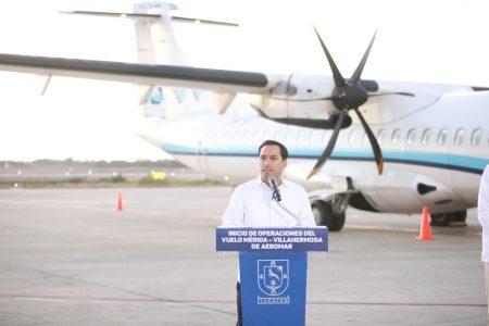 Nueva era en la conectividad aérea de la región maya