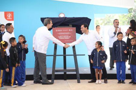 Con la apertura de nuevas escuelas, se fortalece la oferta educativa en Yucatán