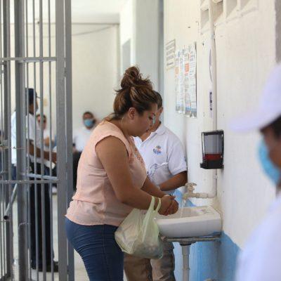 El penal meridano fortalece sus medidas sanitarias ante el Covid-19