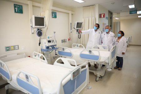 Revisan la zona Covid-19 del Hospital Regional de Alta Especialidad