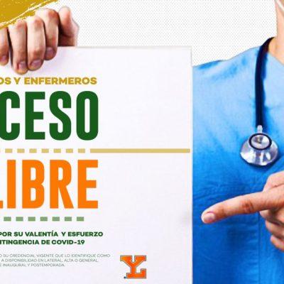 Leones premiarán labor de médicos y enfermeros con boletos gratis