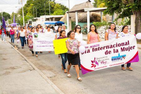 Kinchil, tierra de la feminista Felipa Poot, se suma a #UnDíaSinNosotras
