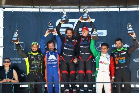 Mario Domínguez  completa la obra en el Autódromo Yucatán