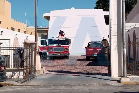 Se incendia bodega en iglesia de mormones en Itzimná