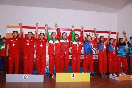 Yucatán brilla en el regional de taekwondo