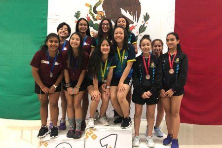 Yucatán se lleva el título regional de tenis de mesa