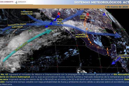 Otro frío amanecer en Yucatán: el viento hizo aumentar la sensación de heladez