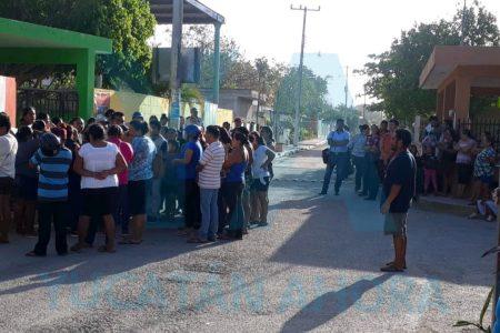 En conflicto escolar en Panabá tampoco quieren acuerdo a medias
